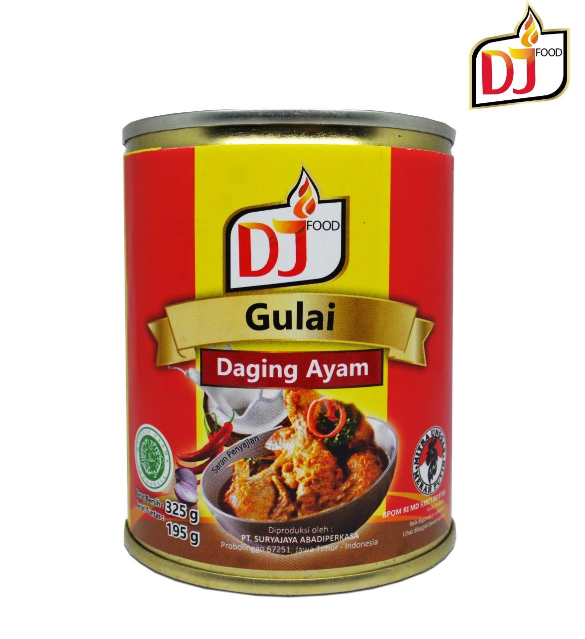 DJ Food Gulai Ayam 325 gram